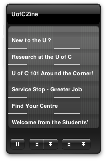 UCalgary Dashboard Widget