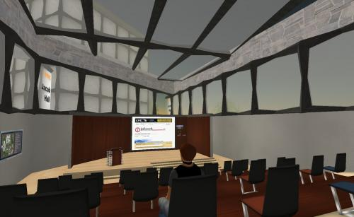NMC Classroom in Second Life