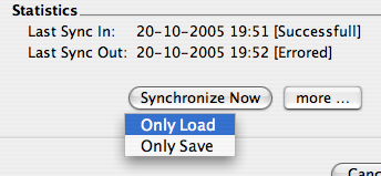 BlogBridge Synchronization issues
