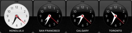 World Clock Dashboard Widgets
