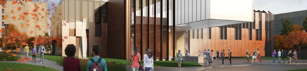 Taylor Institute West Rendering