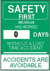 del.icio.us safety sign