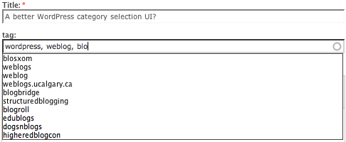 Drupal Categories