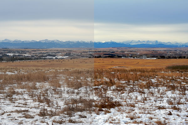 12 mile coulee christmas day, before and after
