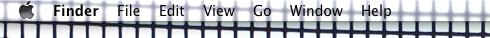 macosx 10.5 menu bar (crop)