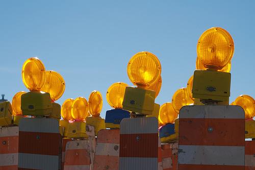 caution lights