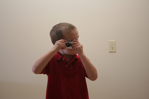 Evans first camera