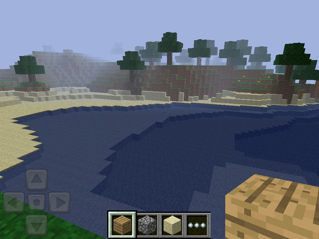 minecraft on ipad, 2011