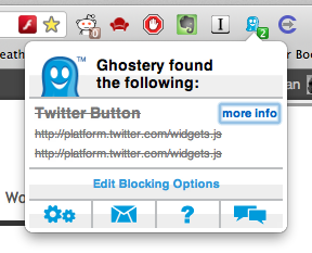 Ghostery – protecting your privacy online