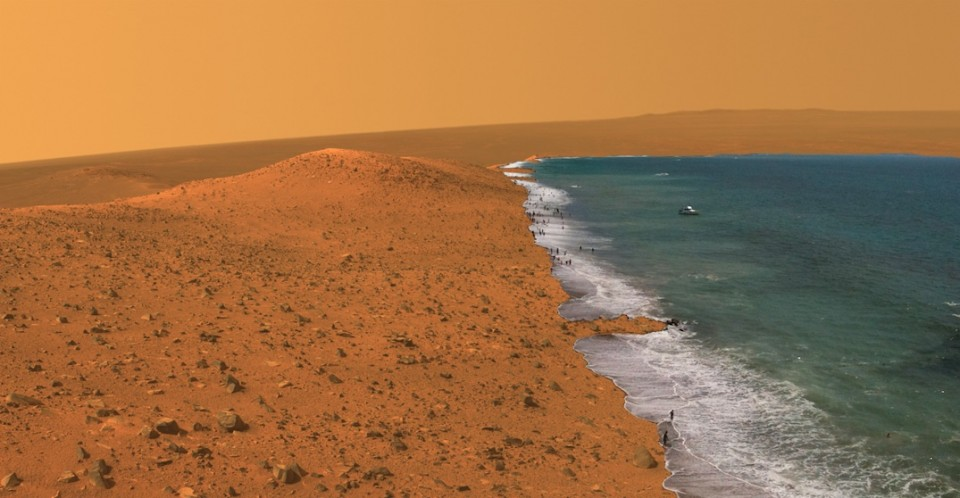Mars Wdowiak Ridge surf