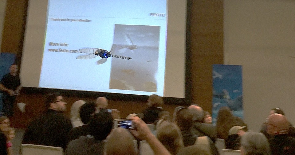 Festo's flying dragonfly drone