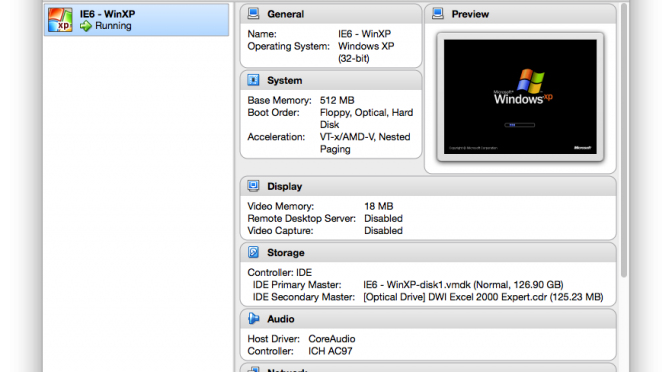 Resurrecting ancient CD-ROMs with VirtualBox and Windows Virtual PC