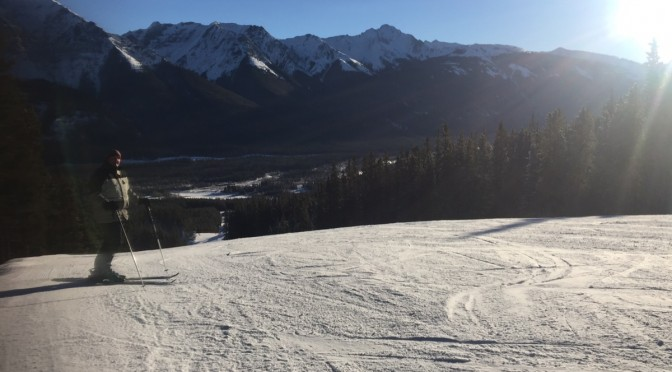 Yet another beautiful day on the mountain