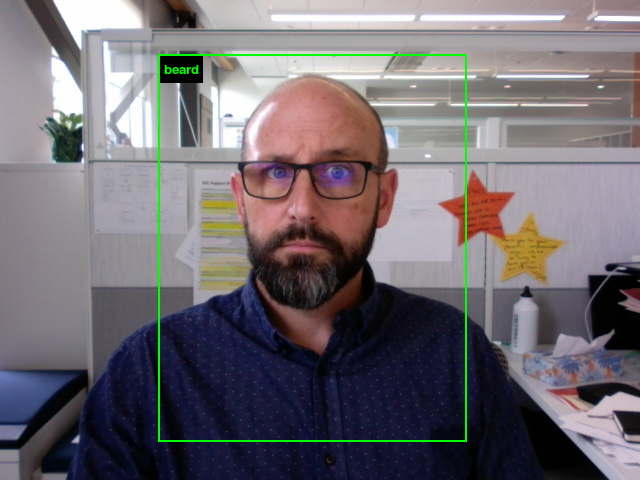 AI facial recognition categorization